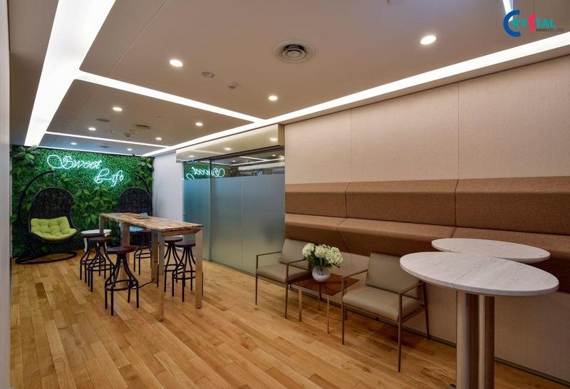 kiến trúc văn phòng phong cách công nghiệp - Crystal Design TPL