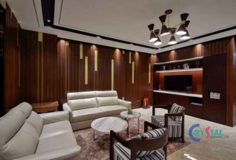 kiến trúc văn phòng - Crystal Design TPL