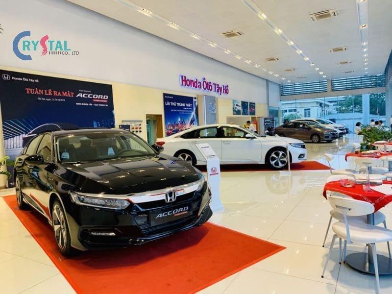 kinh nghiệm thiết kế showroom ô tô - Crystal Design TPL