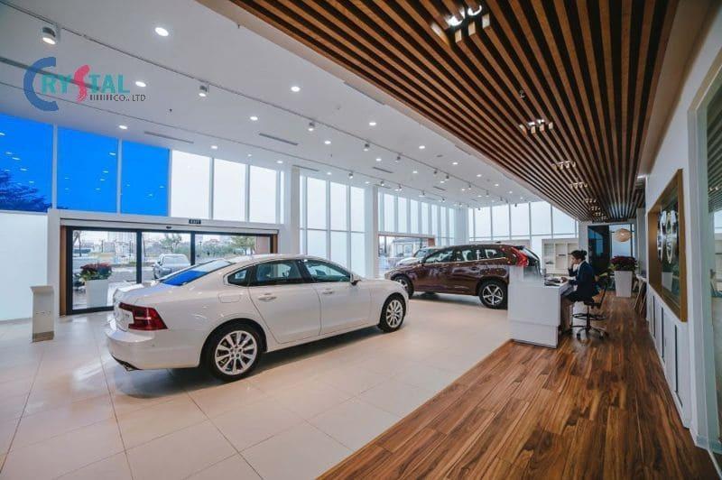 kinh nghiệm thiết kế showroom xe hơi - Crystal Design TPL