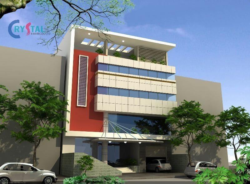 mẫu nhà ở kết hợp kinh doanh tiết kiệm - Crystal Design TPL
