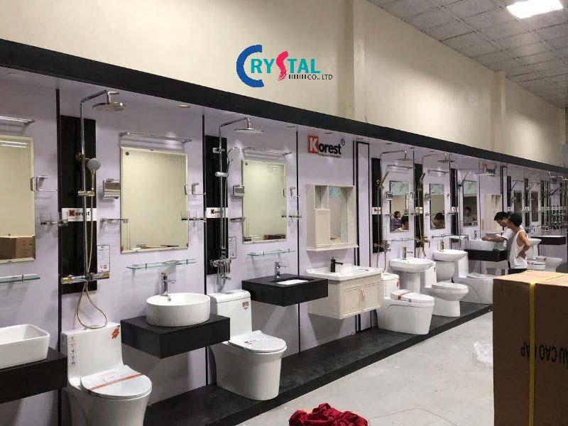 mẫu showroom đẹp - Crystal Design TPL
