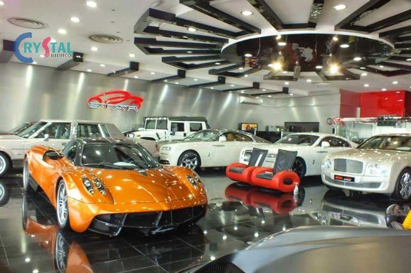 mẫu showroom ô tô đẹp nhất - Crystal Design TPL