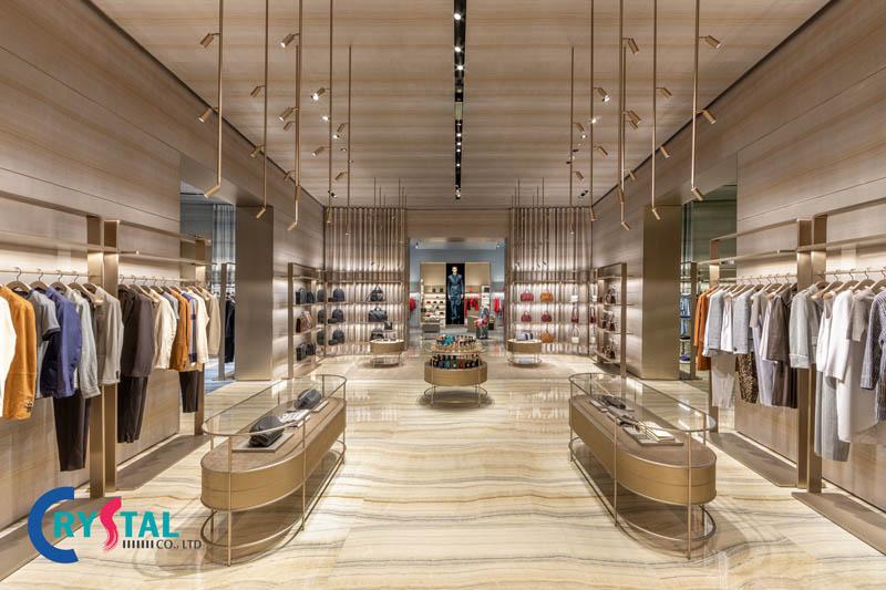 mẫu thiết kế nội thất shop thời trang đẹp nhất - Crystal Design TPL