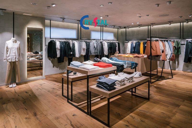 mẫu thiết kế nội thất showroom đẹp - Crystal Design TPL