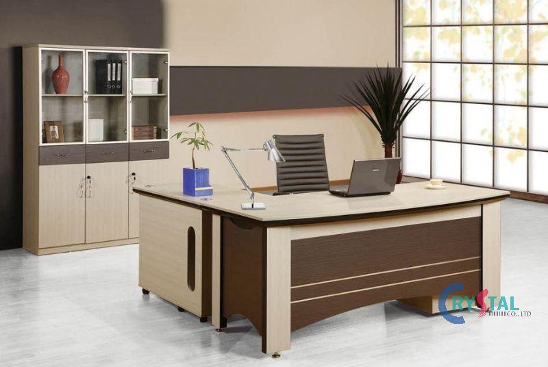 mẫu thiết kế phòng làm việc ấn tượng - Crystal Design TPL