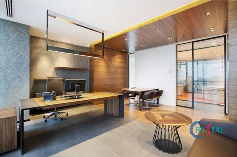 mẫu thiết kế phòng làm việc cá nhân đẹp - Crystal Design TPL