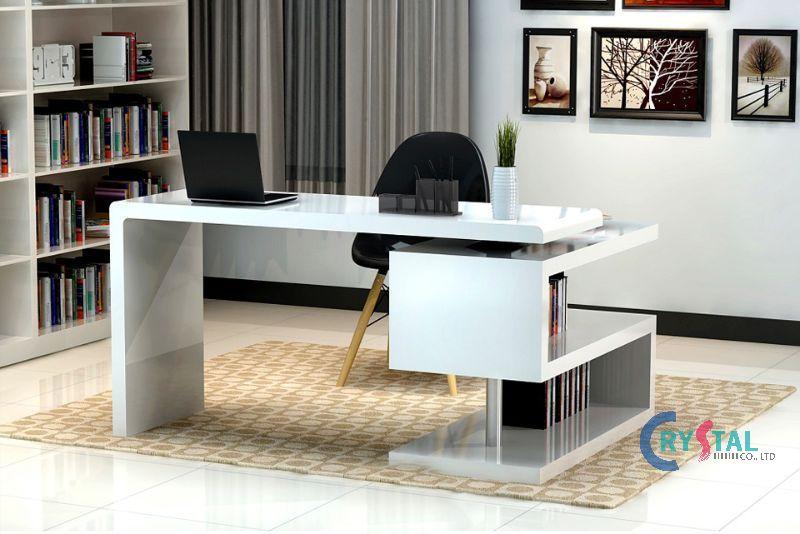 mẫu thiết kế phòng làm việc cá nhân - Crystal Design TPL