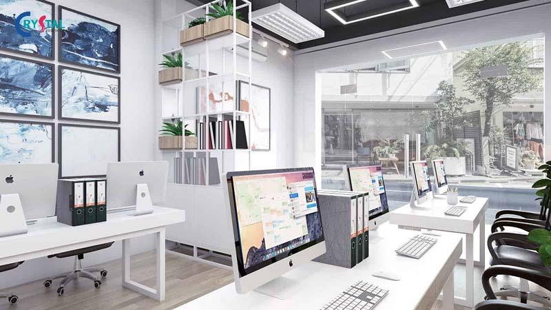 mẫu thiết kế phòng làm việc công sở