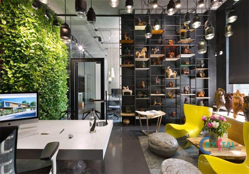 mẫu thiết kế phòng làm việc nhỏ tại nhà - Crystal Design TPL