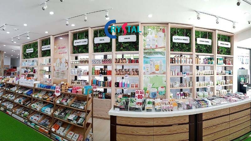 mẫu thiết kế shop cửa hàng - Crystal Design TPL