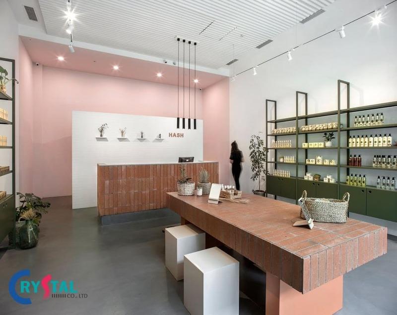 mẫu thiết kế shop mỹ phẩm - Crystal Design TPL
