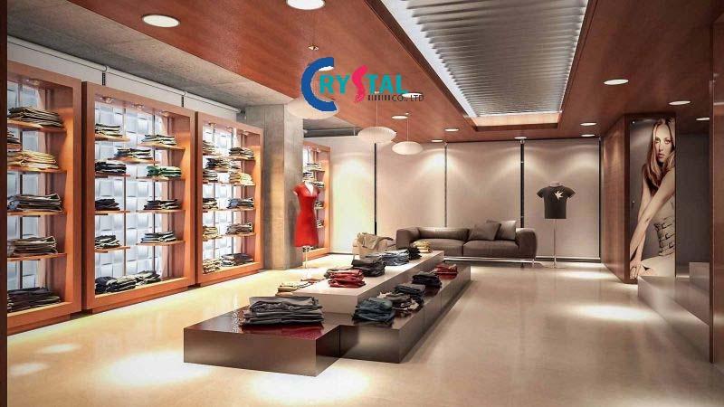 mẫu thiết kế showroom cao cấp - Crystal Design TPL