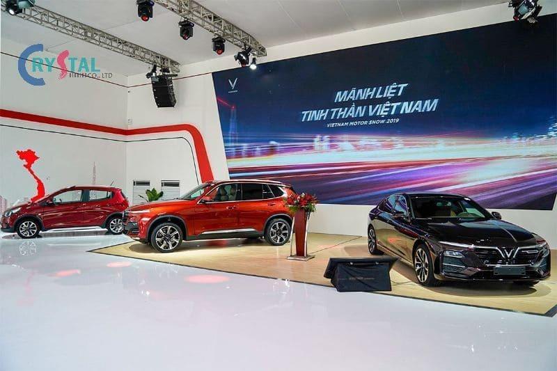 mẫu thiết kế showroom ô tô đẹp - Crystal Design TPL