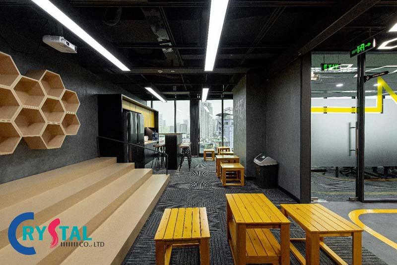 mẫu thiết kế văn phòng ảo