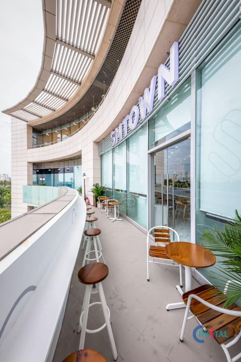 mẫu tòa nhà văn phòng đẹp - Crystal Design TPL