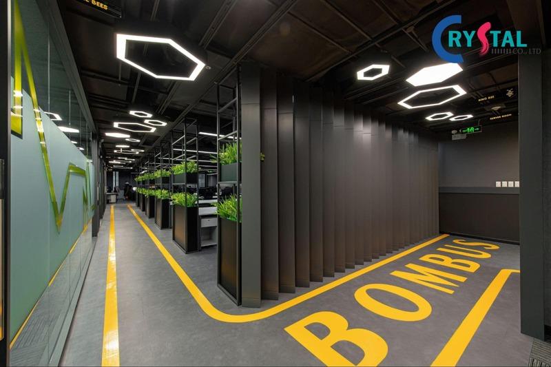 mẫu văn phòng xanh thân thiện - Crystal Design TPL
