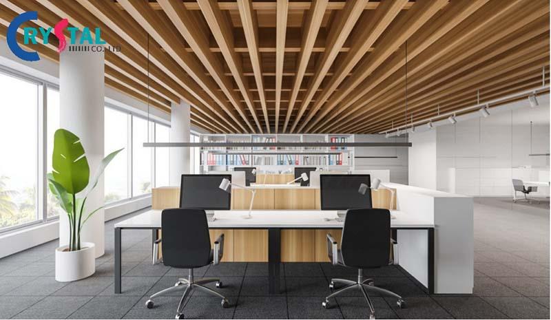 mẫu ý tưởng thiết kế văn phòng đẹp