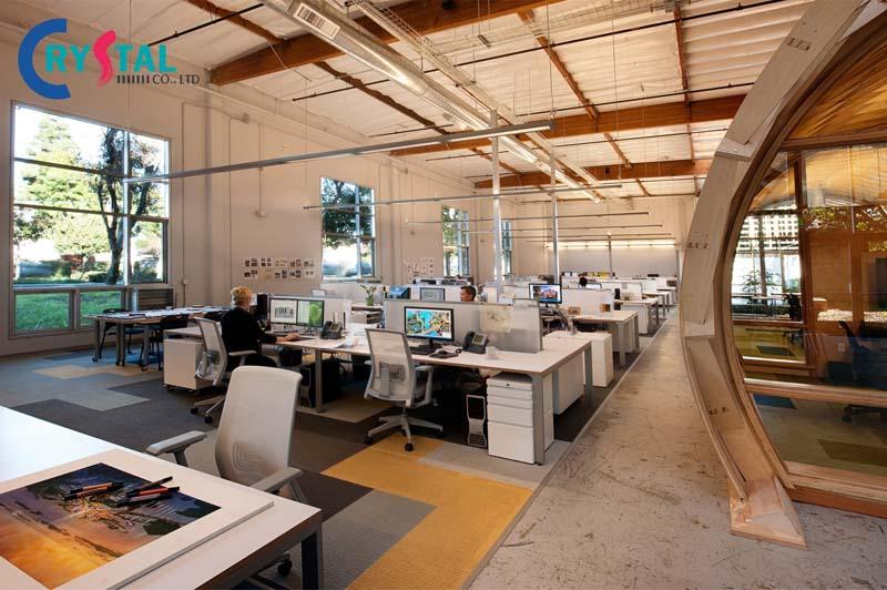 mẫu ý tưởng thiết kế văn phòng hiện đại
