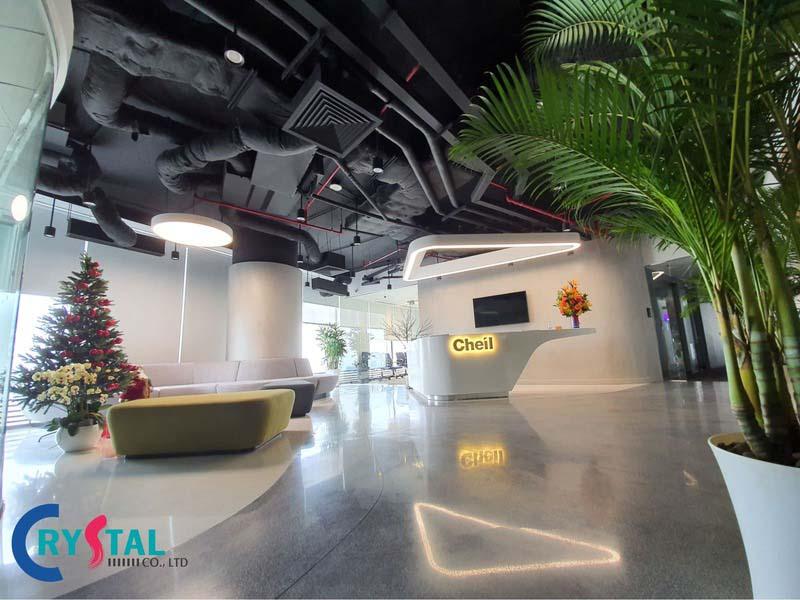 mô hình văn phòng hiện đại cho doanh nghiệp - Crystal Design TPL