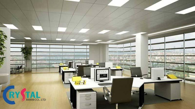 mô hình văn phòng hiện đại là gì - Crystal Design TPL