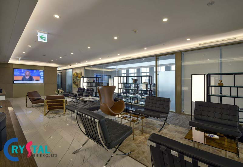 mô hình văn phòng kiểu mới - Crystal Design TPL