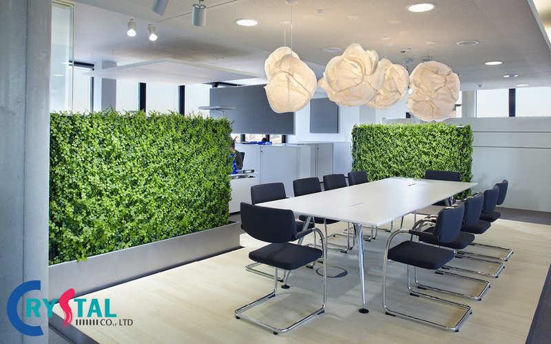 mô hình văn phòng xanh là gì - Crystal Design TPL