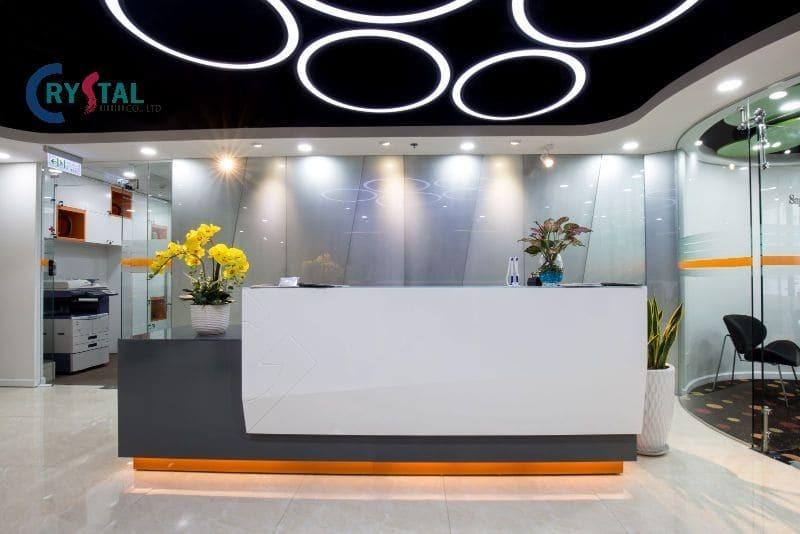 nhà văn phòng - Crystal Design TPL