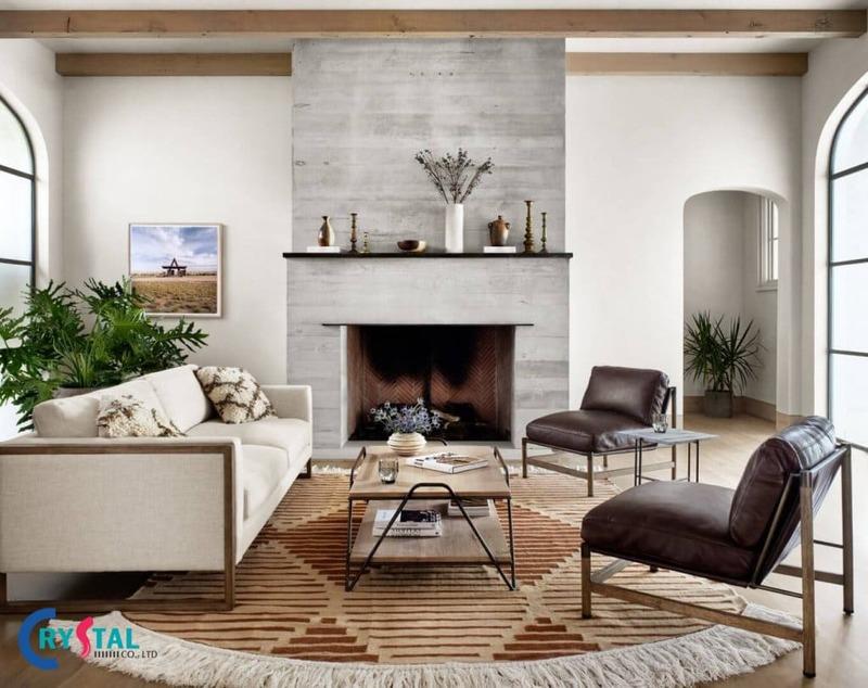 những kiểu phong cách thiết kế nội thất - Crystal Design TPL
