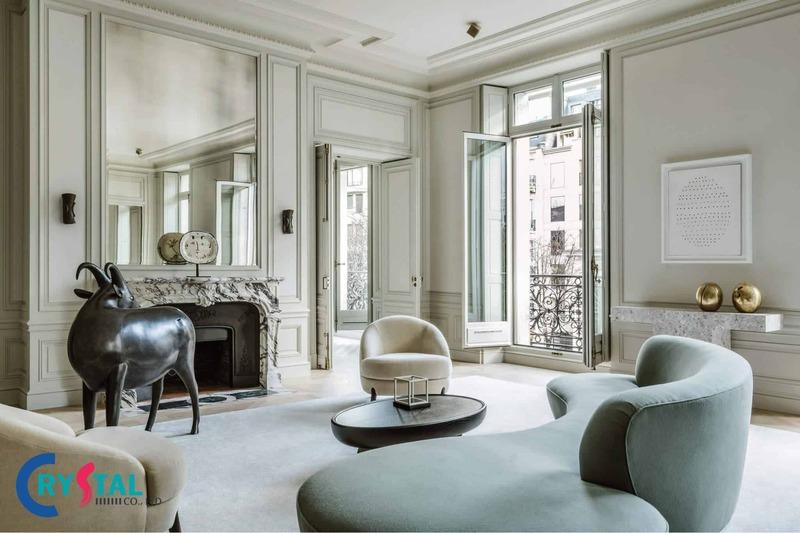 những phong cách thiết kế nội thất - Crystal Design TPL