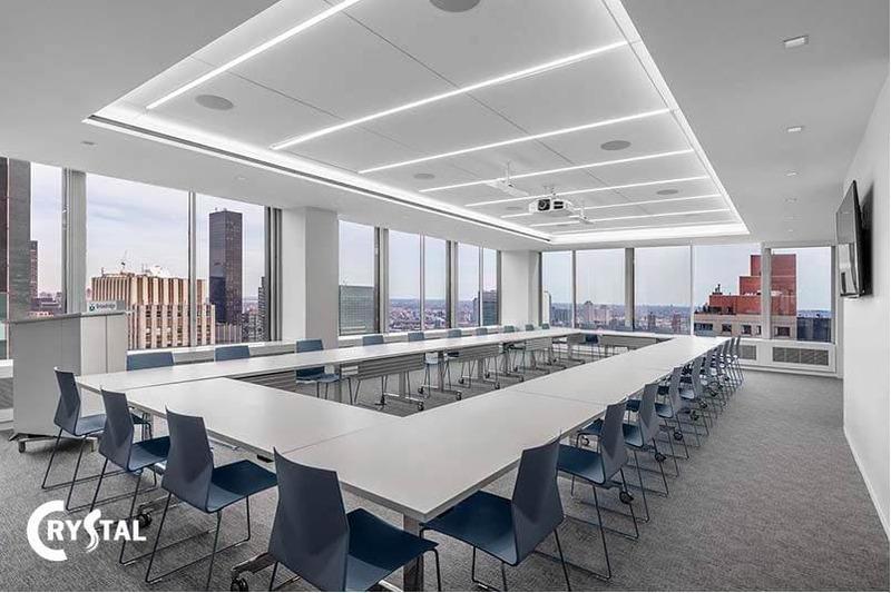 nội thất phòng họp sang trọng - Crystal Design TPL