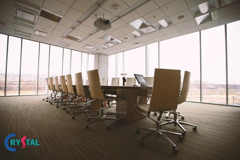 nội thất phòng họp - Crystal Design TPL