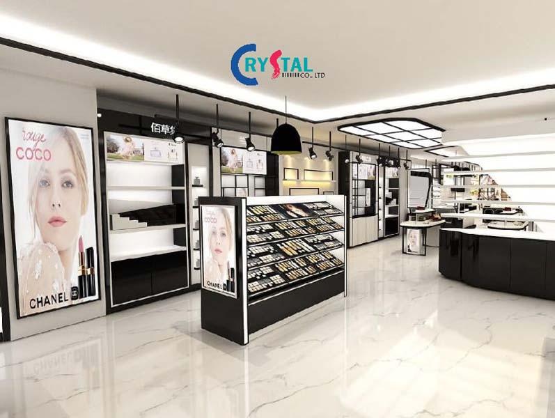 nội thất showroom đẹp - Crystal Design TPL
