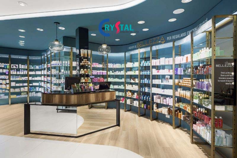 nội thất showroom giá rẻ - Crystal Design TPL