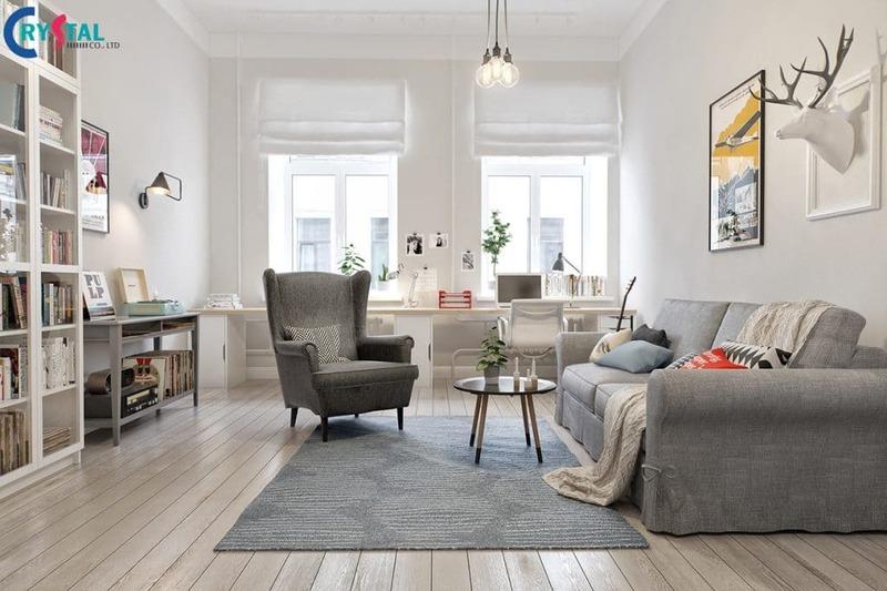 nội thất theo phong cách Scandinavian - Crystal Design TPL