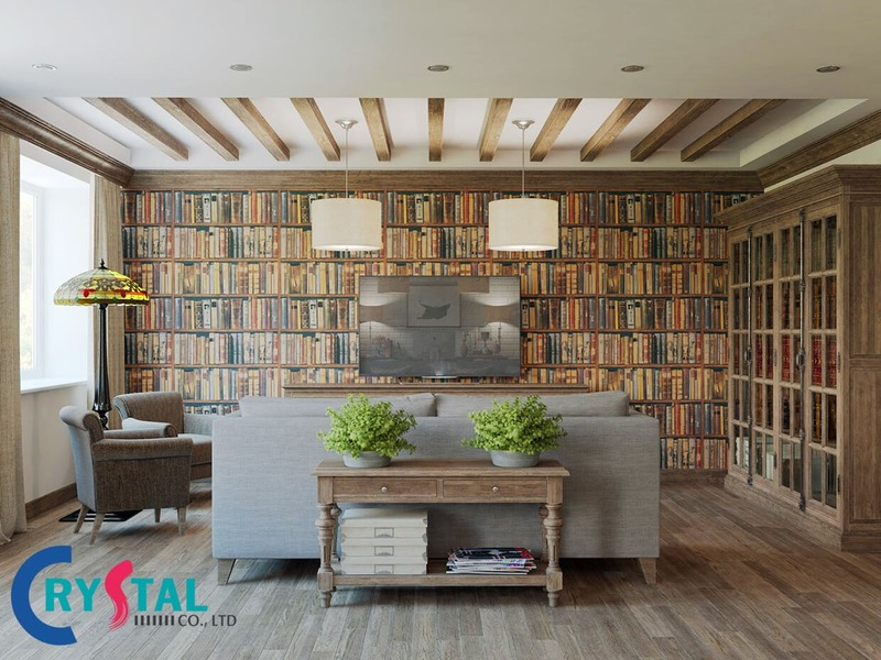 nội thất văn phòng đẹp - Crystal Design TPL