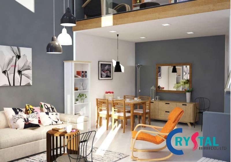 phong cách đương đại trong thiết kế nội thất - Crystal Design TPL
