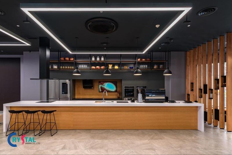 phong cách hiện đại trong thiết kế nội thất - Crystal Design TPL