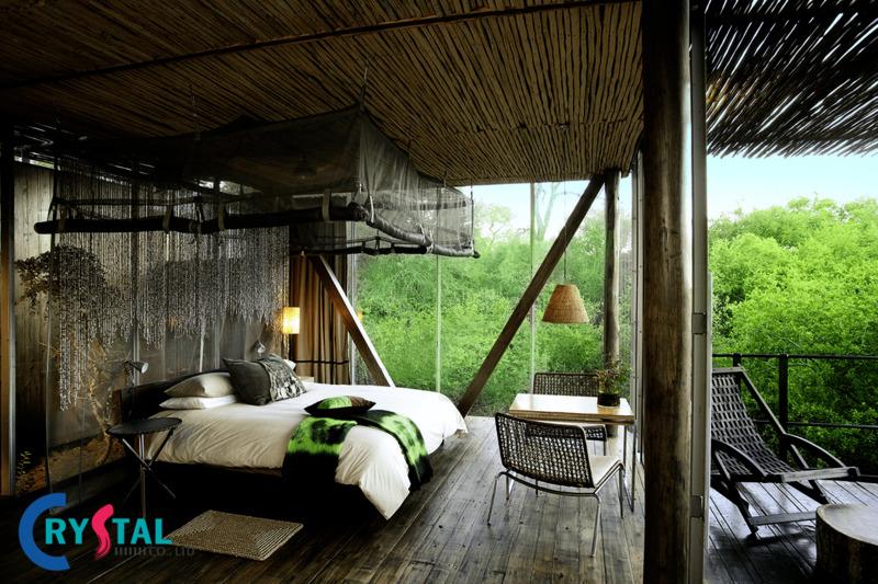 phong cách kiến trúc eco - Crystal Design TPL