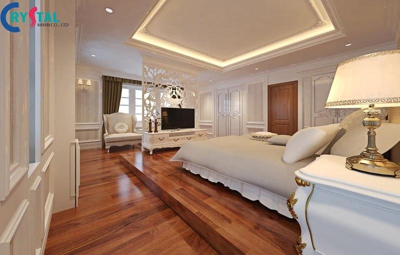 Sàn gỗ trong phong cách tân cổ điển