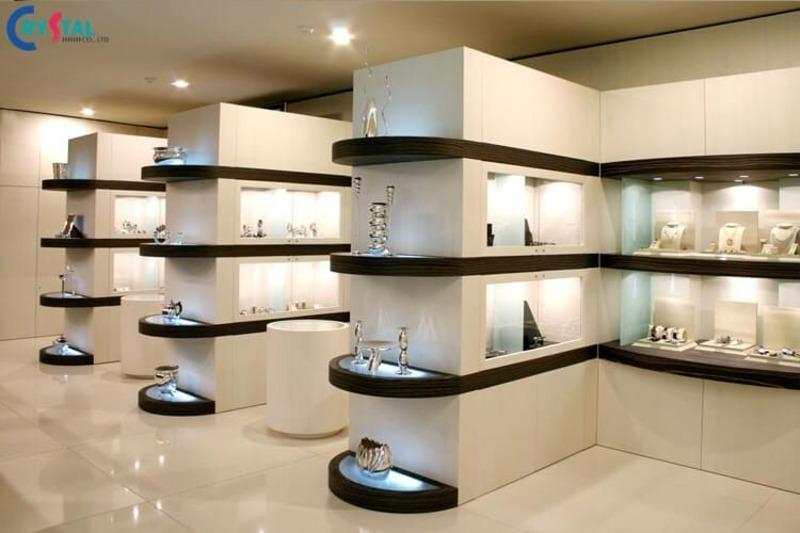 phong cách kiến trúc thiết kế showroom - Crystal Design TPL