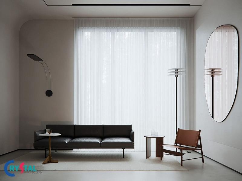 phong cách kiến trúc tối giản - Crystal Design TPL