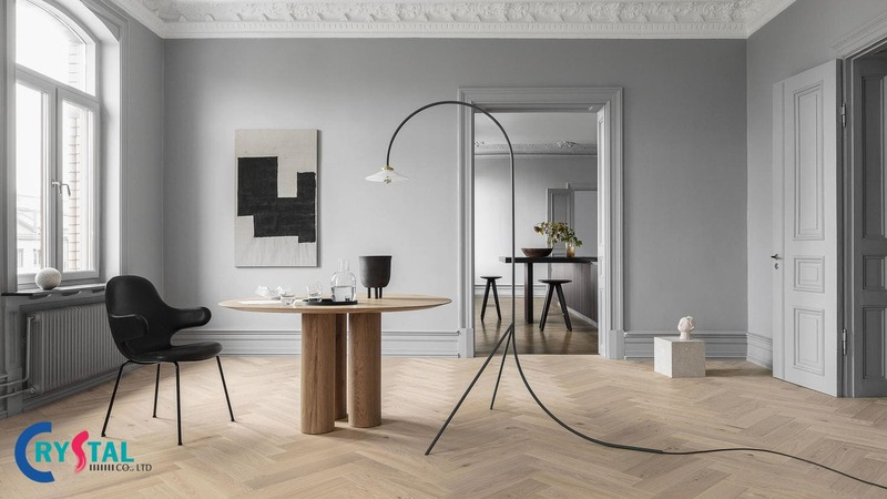 phong cách minimalism trong nội thất - Crystal Design TPL