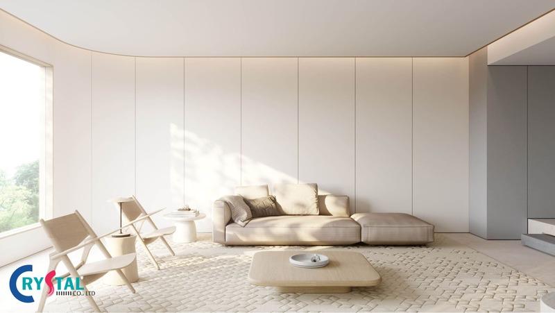 phong cách minimalism trong thiết kế nội thất - Crystal Design TPL