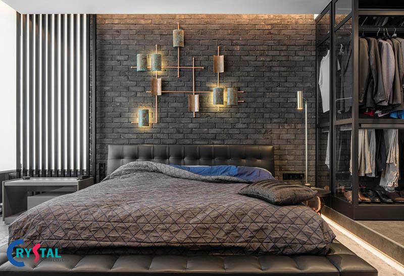 phong cách nội thất industrial đẹp - Crystal Design TPL