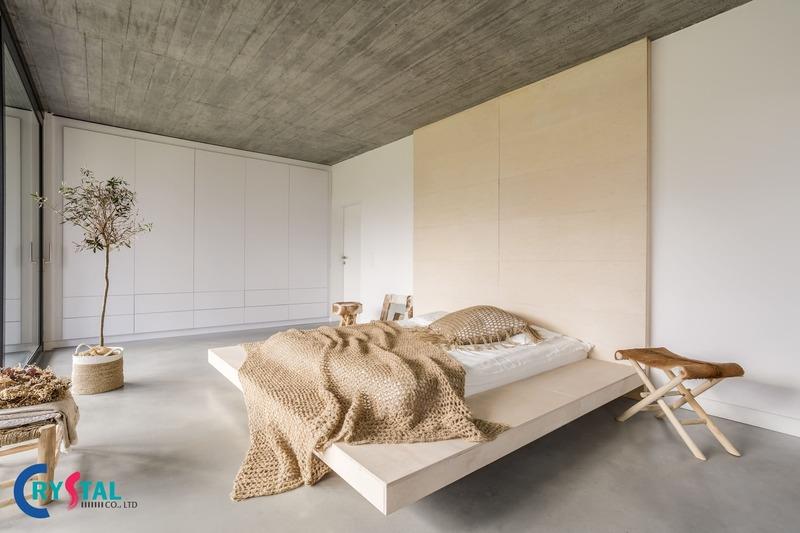 phong cách nội thất minimalism - Crystal Design TPL