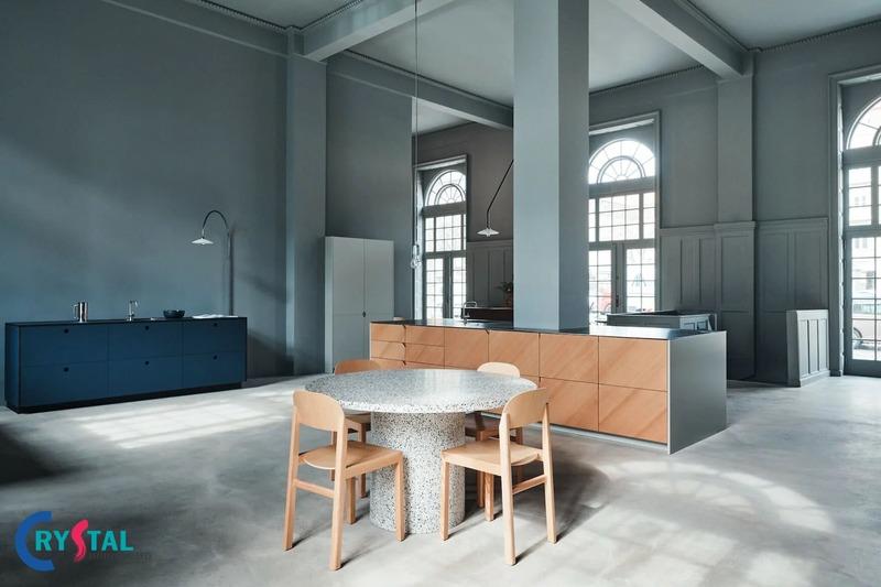 phong cách nội thất minimalist - Crystal Design TPL