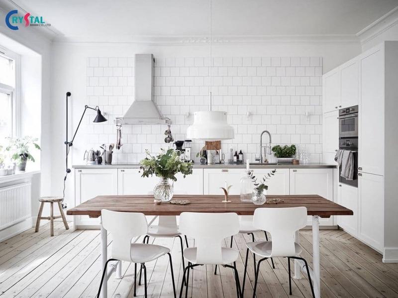 phong cách nội thất scandinavian - Crystal Design TPL