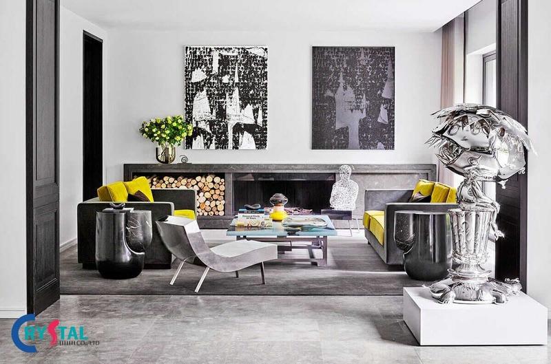 phong cách nội thất - Crystal Design TPL