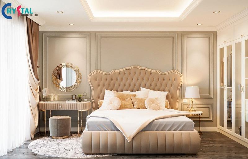 phong cách tân cổ điển trong thiết kế nội thất - Crystal Design TPL